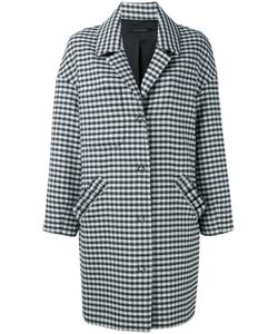 Mother Of Pearl | Checked Drop Shoulder Coat Size Medium