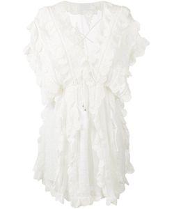 Zimmermann | Valour Scalloped Ruffle Dress Size 1