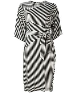 Diesel | Striped Tie Fastening Dress