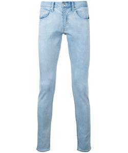 Monkey Time | Slim Stonewashed Jeans Medium Cotton