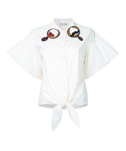 Tsumori Chisato | Embroidered Collar Shirt