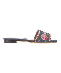 Tabitha Simmons | Patterned Sandals 36