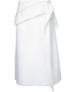 Dion Lee | Axis Zip Skirt Size 12 Cotton/Polyamide