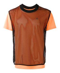 adidas x Kolor | Adidas By Kolor Laye Fishnet T-Shirt Large Polyester