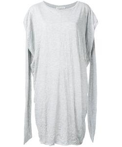 Stefano Mortari   Slit Arms Jersey Dress