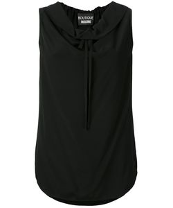 BOUTIQUE MOSCHINO | Cowl Neck Tie Top