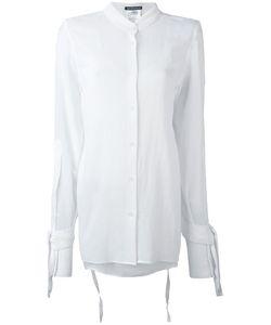 Ann Demeulemeester | Рубашка С Завязками На Рукавах