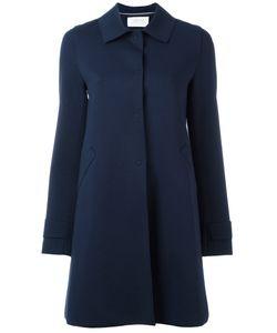 Harris Wharf London | Button Up Coat 44 Cotton/Polyamide/Spandex/Elastane