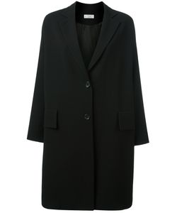 Alberto Biani | Drop Shoulder Button Fastening Coat 44