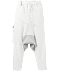 Y-3 | Drop Crotch Sweatpants Large Polyester/Cotton