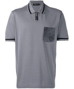 Versace   Contrast Pocket Polo Shirt