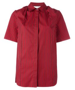 3.1 Phillip Lim   Pinstriped Shirt 4 Silk/Cotton