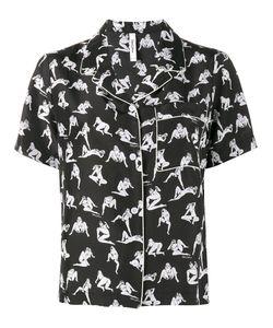 ADAM SELMAN | Naked Lady Print Pyjama Shirt Size Small