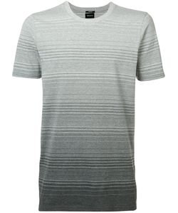 Denham | Ombre Stripe T-Shirt Xl Cotton/Spandex/Elastane