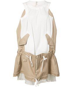 Sacai | Sleeveless Trench Dress 2