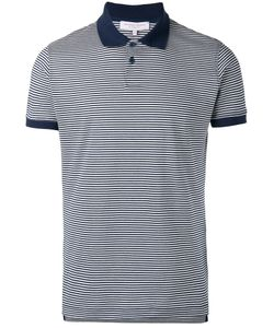 Orlebar Brown | Striped Polo Top Size Small