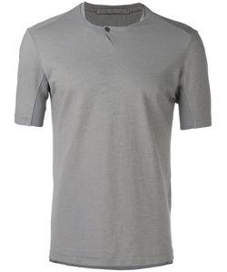 Transit | Plain T-Shirt 48 Cotton/Linen/Flax