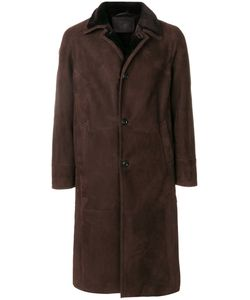 Liska | Long Shearling Coat Men