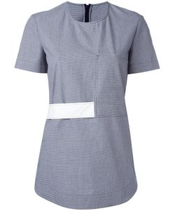 Cedric Charlier | Cédric Charlier Band Detail T-Shirt 42 Cotton