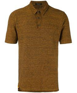 Roberto Collina | Ribbed Knit Polo Shirt