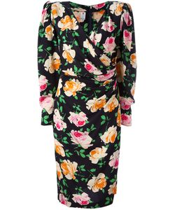 Emanuel Ungaro Vintage | Flower Print Dress 48