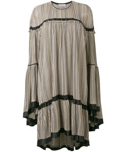 Sonia Rykiel | Striped Ruffled Dress