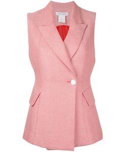 Bianca Spender | Tweed Riding Vest Women