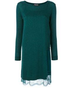 Twin-set | Платье Джерси С Кружевной Оторочкой