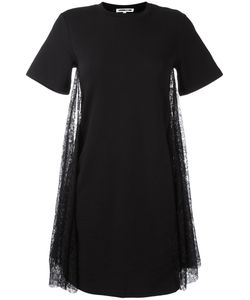 Mcq Alexander Mcqueen | Lace T-Shirt Dress Large Cotton/Polyamide