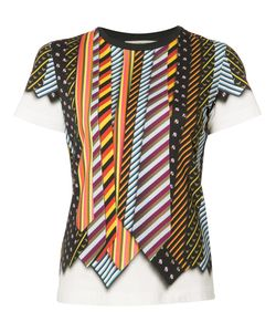 Mary Katrantzou | Iven T-Shirt Small Cotton/Spandex/Elastane