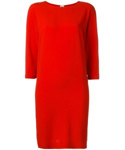 Missoni | Three-Quarters Sleeve Shift Dress 40 Acetate/Silk