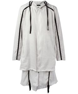 THOM KROM | Hooded Ayer Coat Medium Cotton