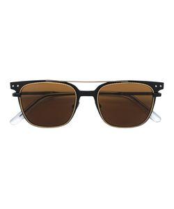Bottega Veneta Eyewear | Square Frame Bar Sunglasses