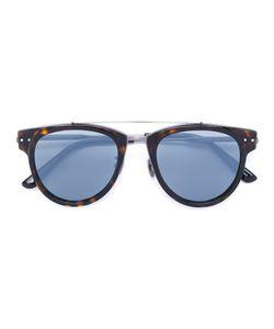 Bottega Veneta Eyewear | Солнцезащитные Очки В Круглой Оправе