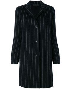 Rag & Bone | Pinstripe Buttoned Coat