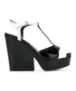Sergio Rossi | T-Bar Wedge Sandals