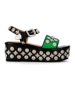 Toga Pulla | Embellished Sandals Size 40
