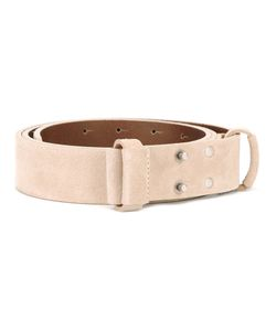 AL DUCA D'AOSTA | 1902 Studded Buckle Belt 85
