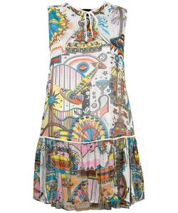 Just Cavalli | Printed Sleeveless Dress 38 Viscose/Polyester