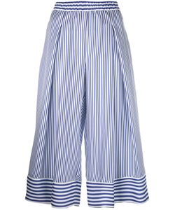 P.A.R.O.S.H. | P.A.R.O.S.H. Striped Cropped Trousers L