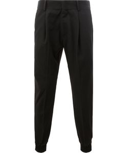 JUUN.J | Elasticated Cuffs Trousers 46 Cotton/Wool
