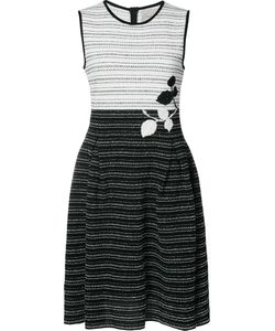 Carolina Herrera | Tweed Colourblock Knit Dress