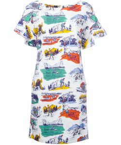 Love Moschino | Camping Print T-Shirt Dress