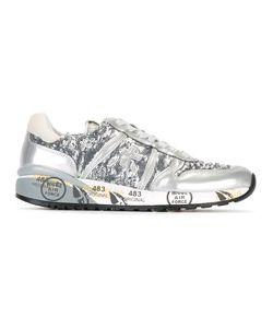 PREMIATA WHITE | Diane Sequin Sneakers 38