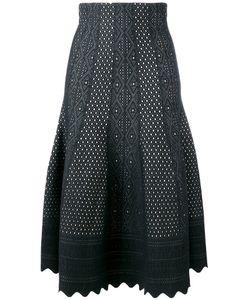 Alexander McQueen | Scallop Edge Lace Skirt Size Medium