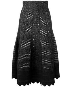 Alexander McQueen   Scallop Edge Lace Skirt