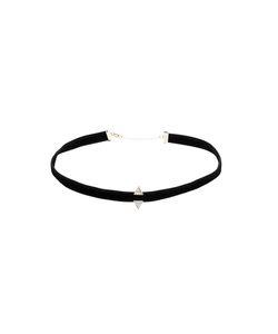 Sarah Noor | Velvet Choker Necklace 1