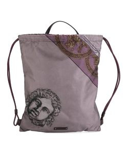 Versace | Printed Drawstring Backpack