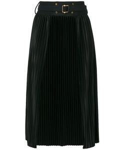 The Reracs | Open Front Pleated Skirt Women