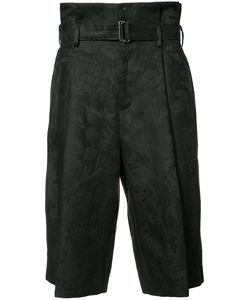 AGANOVICH | Belted Cropped Trousers 50 Linen/Flax